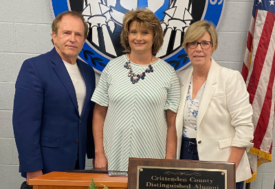 Davidson, Wigginton Inducted As Distinguished Alumni