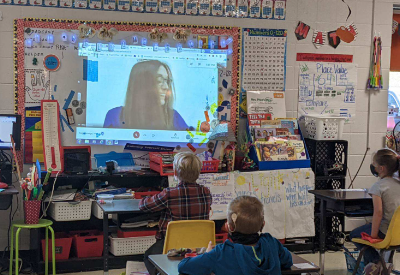 Miss Kentucky Visits Virtually With CCES Students