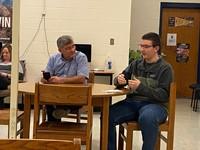 Bechler visits CCHS Students